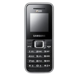 Samsung E1182 Duos Unlocked Dual Sim Quad Band Phone with FM Radio and Organizer