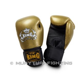 Top King Boxing Gloves Empower Creativity Tkbgem 02 Gold Size 16
