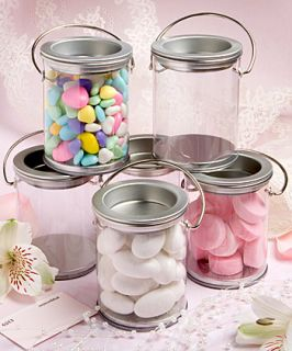 12 Empty Mini Paint Cans Wedding Bridal Baby Shower Birthday Party Favors
