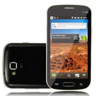 "New 4 0"" Multi Touch Android 4 0 Dual Sim WiFi Smartphone at T T Mobile Unlocked"