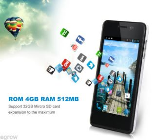 "Cubot GT90 4 0"" Android 4 2 Dual Core Sim 4G ROM for at T T Mobile 3G WiFi Phone"