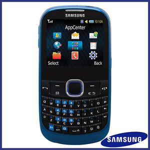 Used Samsung A187 Blue Unlocked GSM QWERTY Cell Phone 411378099907