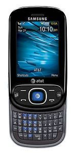 New Samsung Strive A687 Unlocked GSM Cell Phone 2MP Camera QWERTY Bluetooth at T