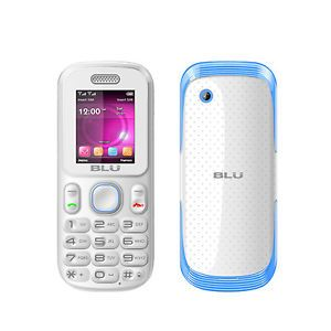 Blu Tank T190I Blue Unlocked GSM Dual Sim Quadband Bar Cell Phone