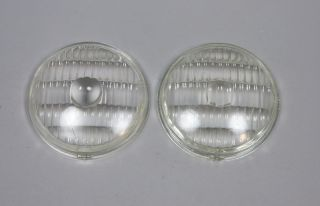 1951 1952 1953 1954 1955 1956 Dodge Town Panel Pickup Truck Parking Light Lenses
