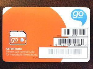 Brand New at T Prepaid Go Phone 3G Micro Sim Card for iPhone 4 4S iPad SKU 6007A