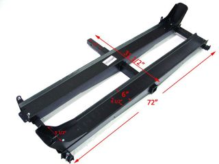 1000 lbs Double Motorcycle Dirt Bike Dual Carrier Hauler ​hitch Rack with Ramp