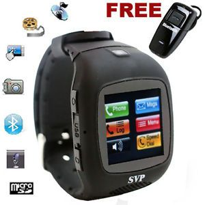 Unlocked Micro Touch Screen Camera  GSM Watch Cell Phone at T T Mobile