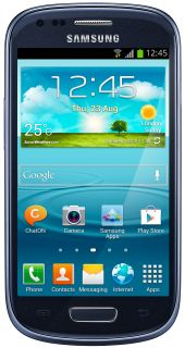 Samsung Galaxy S3 Mini 8GB I8190 Unlocked GSM Android Cell Phone Blue