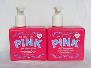 Victoria Secret Pink Cool Carefree Supersoft Body Lotions Set L K