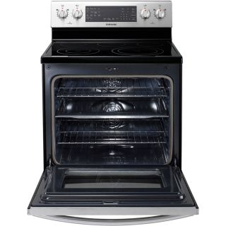 Samsung Stainless Steel Flexduo Electric Convection 30 inch Range NE595R1ABSR