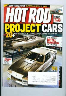 2010 Hot Rod Magazine do It Yourself Metal Fabrication