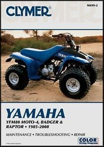 Clymer Yamaha Badger Raptor 80 Service Repair Manual