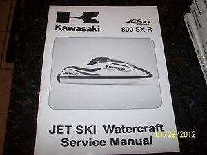 Kawasaki 03 800sx R Jet Ski PWC Watercraft Service Shop Repair Manual