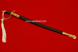 USMC Marine Corps NCO Sword Gold Dress Sabre Replica