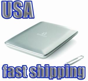 Iomega Slim Mini USB 320GB External Portable Hard Drive