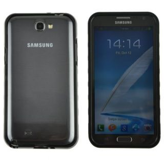 Black Aluminum Metal Frame Bumper Case Cover for Samsung N7100 Galaxy Note 2