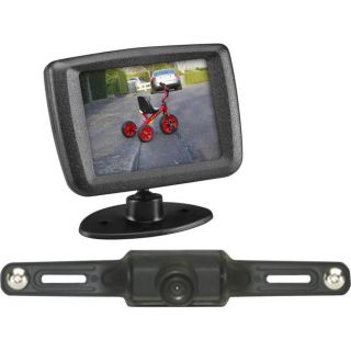 "Audiovox ACA240 Wireless Car License Plate Rear View Back Up Camera 2 5"" Monitor"