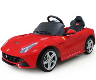 Ferrari F12 Berlinetta Ride on Kids Battery Powered Wheels Car RC Remote Red
