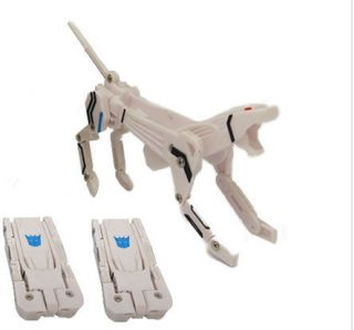 Transformers Ravage White USB 2 0 Flash Memory Drives 4GB 8GB 16GB 32GB