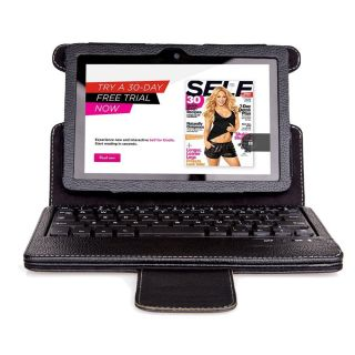Seenda Removable Magnet Bluetooth Keyboard Leather Case for Kindle Fire HDX 7