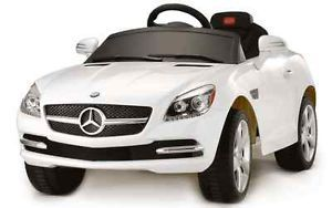 Licensed Mercedes SLK Ride on Power Wheels Battery Toy Car Remote Control RC