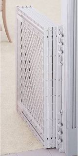 Super Large Extra Big 2 3 4 5 Foot Wide Plastic Baby Dog Pet Safety Gate V Feet