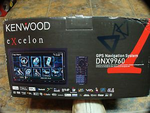 Kenwood Excelon DNX9960 in Dash 3D Navigation GPS Bluetooth DVD Sirius XTRAS