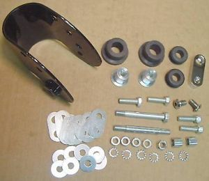Gas Tank Isolation Mount Kit 4 Harley Sportster 82 03