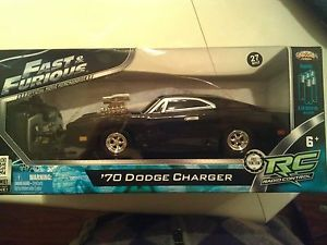 Fast and Furious Official 1970 Dodge Charger RC Movie Car RARE Vin Diesel
