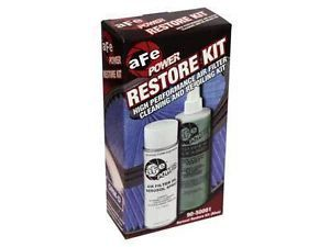 Afe Power Air Filter Aerosol Restore Cleaner Cleaning Tune Up Kit Blue 90 50001