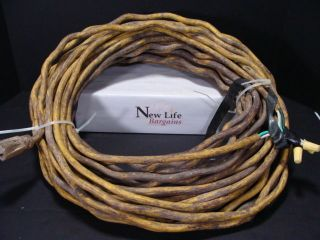 Heavy Duty Extension Cord 100 Feet 12 Gauge Copper Scrap Worldwide Shipping