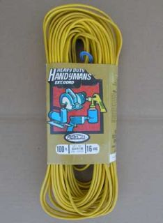 New Leviton 100' HD Indoor Extension Cord 10A 1250W