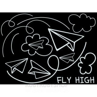 GPS 118 Plane Vinyl Wall Window Decor Decals Sticker BRINGBRINGSHOP