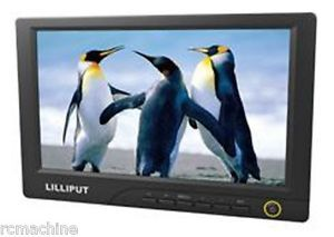 "Lilliput 8"" HDMI TFT LCD Car Monitor 869GL 80NP C New"
