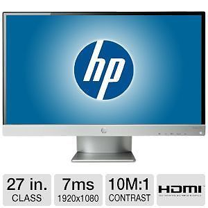 "HP Pavilion 27X 27xi 27"" HDMI Widescreen LED Backlight LCD Monitor"