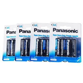 20 Pack Panasonic AA Batteries Long Lasting Super Heavy Duty 2015 2016