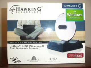 Hawking Technology High Gain USB Wireless G Dish Network Adapter