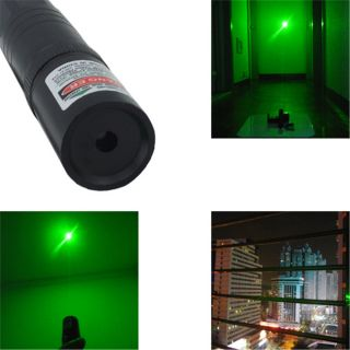 Military Green Laser Pointer Pen High Power Bright 5 Mile Battery Charger US