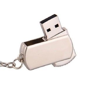 Metal Roating USB 2 0 Flash Memory Drive 128GB Stick Pen Thumb New