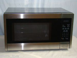 Carousel Countertop Microwave Oven R331ZS 1000 Watts, Stainless Steel