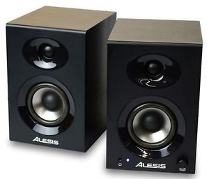 Alesis Elevate 3 Studio Monitors 60W High Fidelity Powered Desktop