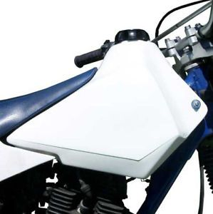 Yamaha TW200 Oversize Plastic Gas Tank Fuel Cell Uses Stock ck Mounts