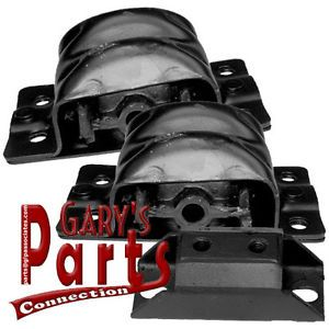 Engine Motor Transmission Mounts Chevrolet Pickup 292 CID 1973 81 2WD
