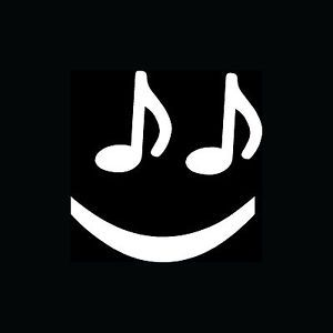 Music Note Smiley Face Sticker Cute Funny Vinyl Decal Love Play Band Instrument