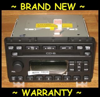 2001 2004 Ford 6 Disc Indash CD Player Changer Radio Explorer Expedition Mustang