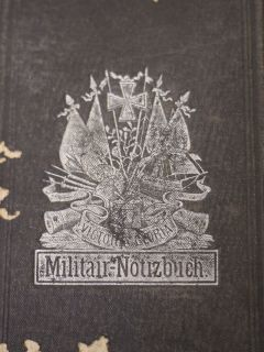 Antique 1870s German Army Military Notebook Militair Notizbuch Diary Wisconsin