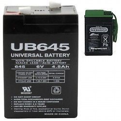 Replacement Battery for Peg Perego John Deere Tractor