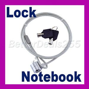 Laptop Notebook PC Lock Security Anti Theft Lock 2 Keys