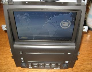 Unlocked Cadillac Escalade ESV Ext Supernav Navigation Radio 6 CD Changer Ant